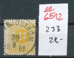 Schweden Nr. 23 B     O-Stempel   (ee6512  ) Siehe Scan - Oblitérés