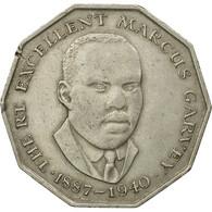 Monnaie, Jamaica, Elizabeth II, 50 Cents, 1975, TTB, Copper-nickel, KM:65 - Jamaica
