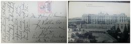 O) 1920 SPAIN, MADRID POST OFFICE SCT 321 10c UNIVERSAL POSTAL UNION CONGRESS - PLAZA DE MADRID -FROM 1735 BAROQUE ARCHI - Madrid