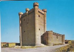 ESPAGNE---CASTILLOS DE ESPANA De Fuensaldana  ( Valladolid )--voir  2 Scans - Valladolid