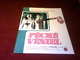 CINEMA  PLV  °° PECHE  VENIEL  24 X 30 - Cinema Advertisement