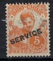 INDOCHINE          N°  YVERT   SERVICE  21   OBLITERE       ( O   2/46 ) - Indochina (1889-1945)