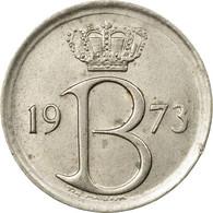 Monnaie, Belgique, 25 Centimes, 1973, Bruxelles, SUP, Copper-nickel, KM:154.1 - 02. 25 Centimes
