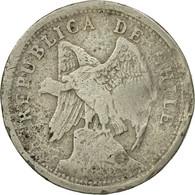 Monnaie, Chile, 20 Centavos, 1922, B+, Copper-nickel, KM:167.1 - Chile