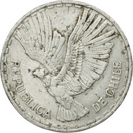 Monnaie, Chile, Centesimo, 1961, TB+, Aluminium, KM:189 - Chile