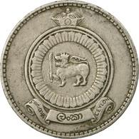 Monnaie, Ceylon, Elizabeth II, Rupee, 1971, TTB, Copper-nickel, KM:133 - Sri Lanka