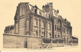 St Saint Michel Sougland (Aisne) - Ecole Savart - Edition Mercier - Carte N° 38 Non Circulée - Schools