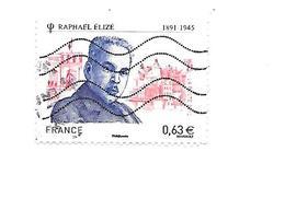 Personnalité Raphaël Elizé N°4724 Oblitéré Année 2013 - Gebruikt