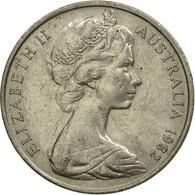 Monnaie, Australie, Elizabeth II, 20 Cents, 1982, TTB, Copper-nickel, KM:66 - Monnaie Décimale (1966-...)