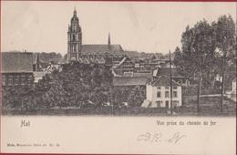 Halle Hal 1905 Brussel Vue Prise Du Chemin De Fer 1905 (In Zeer Goede Staat) - Halle