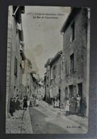 Cpa  LONS LE SAUNIER - Rue De L'Agriculture ( Jura 39 ) Qqs Traces Voir Scans - Lons Le Saunier