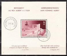 BL8  Monument Albert Ier - Oblit. - LOOK!!!! - Blocks & Sheetlets 1924-1960