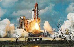 Centre Spacial: Kennedy Space Center (Florida) - Mission Discovery (Challenger, NASA) - Carte Non Circulée - Espace