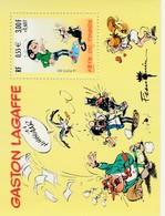FRANCE N° 34** -Gaston Lagaffe - Blocs & Feuillets