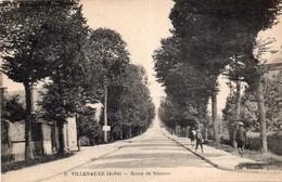 CPA - 10 -  VILLENAUXE - Route De Sézanne - Edit. Chopelin - France