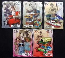 MALTA  2007     MiNr.1518-22    MNH (**) ( Lot  F 508 ) - Malte