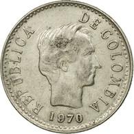 Monnaie, Colombie, 20 Centavos, 1970, TTB, Nickel Clad Steel, KM:237 - Colombie