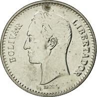 Monnaie, Venezuela, 25 Centimos, 1989, TTB, Nickel Clad Steel, KM:50a - Venezuela
