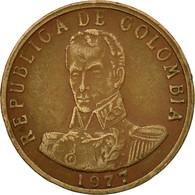 Monnaie, Colombie, 2 Pesos, 1977, TB+, Bronze, KM:263 - Colombia