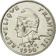 Monnaie, Nouvelle-Calédonie, 10 Francs, 1990, Paris, TTB, Nickel, KM:11 - Nouvelle-Calédonie