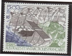 Cv2 - TAAF PA96 ** MNH De 1986 - SPOT - Télédétection Par Satellite. ( Faciale 1,22 ) - Terres Australes Et Antarctiques Françaises (TAAF)