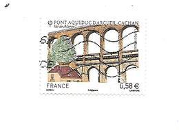 Série Touristique Pont Acqueduc D'Arcueil-Cachan 4503 Oblitéré - France
