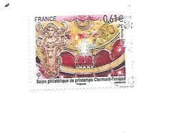 Salon Philatélique De Printemps De Clermont Ferrand 4851 Oblitéré 2014 - France