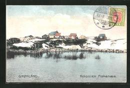 AK Grönland, Kolonien Fiskenaes - Dänemark