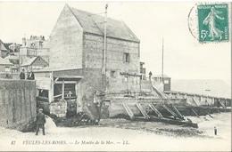 76 CPA VEULES LES ROSES Le Moulin De La Mer - Veules Les Roses