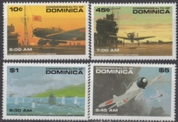 DOMINIQUE - 50e Anniversaire De L'attaque De Pearl Harboor A - Dominique (1978-...)