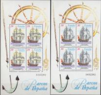 ESPAGNE - Bateaux 1995 Feuillet - Blocks & Sheetlets & Panes