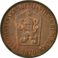 Monnaie, Tchécoslovaquie, 50 Haleru, 1970, TTB, Bronze, KM:55.1 - Czechoslovakia