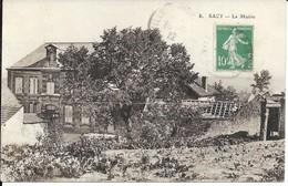 CARTE POSTALE  ANCIENNE  SACY  - FRANCE 51 - Autres Communes