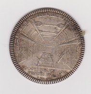 Médaille En Argent De La Société Des Bibliophiles Français - Royal / Of Nobility