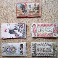 Turkey,Ottoman, 5 Items,PAPER OF CIGARETTES, #1914 ,F.. - Cigarette Holders