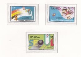 Turkish Cyprus 1988 Seoul Olympic Games  -   3 Stamps   MNH/**     (H43) - Ete 1988: Séoul