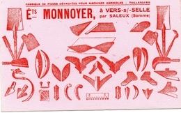 BUVARD  -  VERS Sur SELLE Par SALEUX  (Somme) Ets MONNOYER - Farm