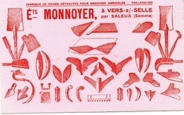 BUVARD  -  VERS Sur SELLE Par SALEUX  (Somme) Ets MONNOYER - Agriculture