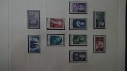 Belle Collection De France ** De 1942 à 1959 Dont Belles Séries Et Bonnes Valeurs - Collections (with Albums)