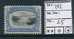 USA YVERT  141 LH - United States