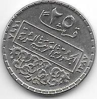 *syria 25 Piastres 1968  Km 87 Unc - Syrie
