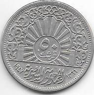 *syria 50 Piastres 1947  Km 80 - Syrie