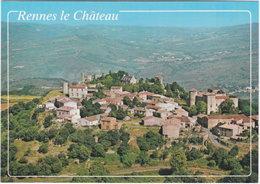 11. Gf. RENNES-LE-CHATEAU. Vue Générale Aérienne - France