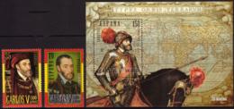 Belgium 2887/88** Charles Quint Espagne  MNH - 1931-Aujourd'hui: II. République - ....Juan Carlos I