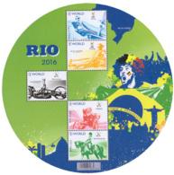 Belgium BL 243**  Rio 2016  2 - Blocs 1962-....