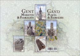 Belgium BL 234** Gand, Places Et Floralies  Année 2016  2 - Blocks & Sheetlets 1962-....