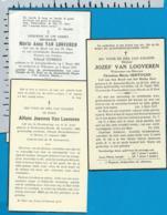 Bp   Van Looveren   St. Antonius - Brecht   3 Stuks - Images Religieuses