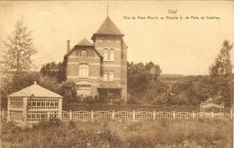 ORP  ---  Villa Du Vieux Moulin, Au Vicomte G  De Partz De Courtray ( 2 Scans ) - Orp-Jauche
