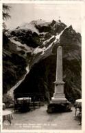 Stilfserjoch Strasse: Blick Vom Weissen Knott Zum Ortler (720-55) * 4. 9. 1954 - Italien