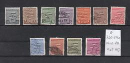 Deutschland Alliierte Besetzung Sowjetische Zone Provinz Sachsen  Gestempelt 73x-84x Wappen Katalog  45,00 - Sowjetische Zone (SBZ)